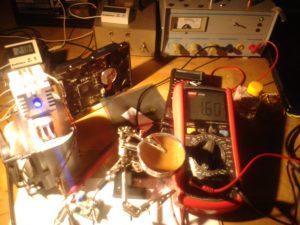 PLTB450b - Erster Testlauf.